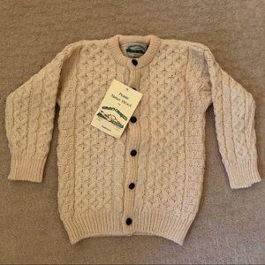 Merino Wool Children's Cardigan Made in Ireland